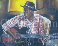 Lee Hooker on Instagram @chezartcom on FB @chezartcom